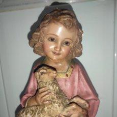 Antigüedades: IMAGEN RELIGIOSA NIÑO JESÚS. Lote 262124015