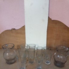 Antigüedades: LOTE DE CRISTAL. Lote 262125600
