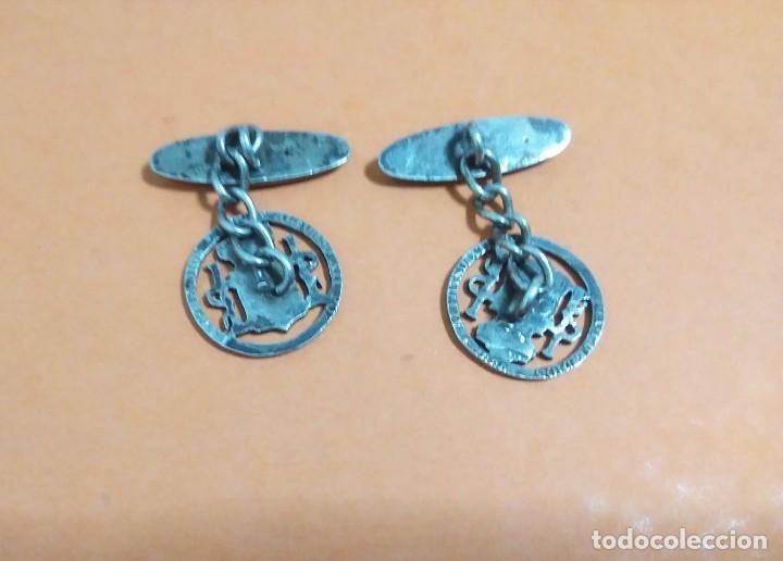 Antigüedades: Gemelos 50 céntimos de plata Alfonso XII 1880 - Foto 2 - 262150615