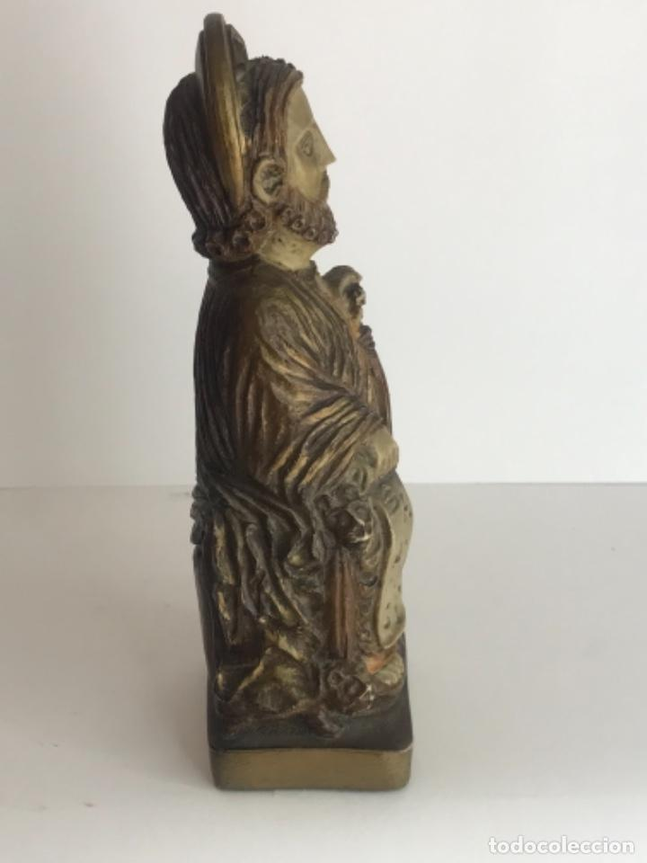 Antigüedades: SANTIAGO PEREGRINO DE RESINA. - Foto 4 - 262177220