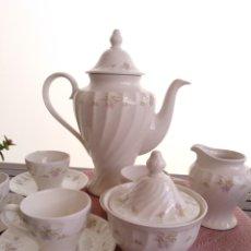 Antigüedades: JUEGO CAFÉ PONTESA ROYAL CHINA. Lote 262233050