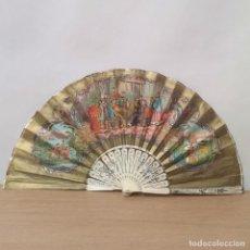 Antigüedades: ABANICO CHINO ANTIGUO. Lote 262260625