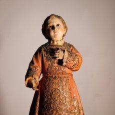 Antigüedades: NIÑO JESÚS DE OLOT. Lote 262267360