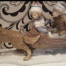 Antigüedades: FIGURA LLADRO TRINEO. Lote 262294085