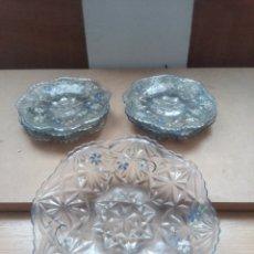 Antigüedades: LOTE DE 3 PLATOS ANTIGUO. Lote 262304265