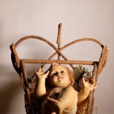 Antigüedades: NIÑO JESÚS DE OLOT. Lote 262310010