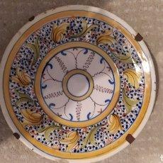 Antigüedades: ANTIGUO PLATO DE MANISES. Lote 262321195