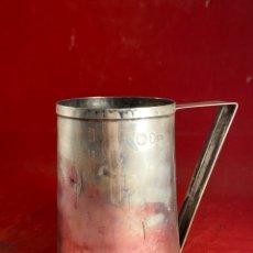 Antigüedades: COPA DE PLATA CONTRASTADA. Lote 262352725