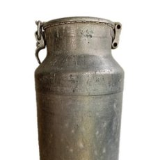 Antigüedades: ANTIGUA LECHERA DE ALUMINIO DE LA CASA RANIA. Lote 262372995