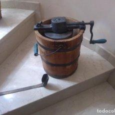 Antigüedades: IMPRESIONANTE ANTIGUA HELADERA ELMA 4. COMPLETA Y MAGNIFICO ESTADO. Lote 262381330
