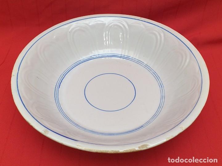 PALANGANA DE CERÁMICA PRINCIPIOS DEL SIGLO XX (Antigüedades - Porcelanas y Cerámicas - Otras)