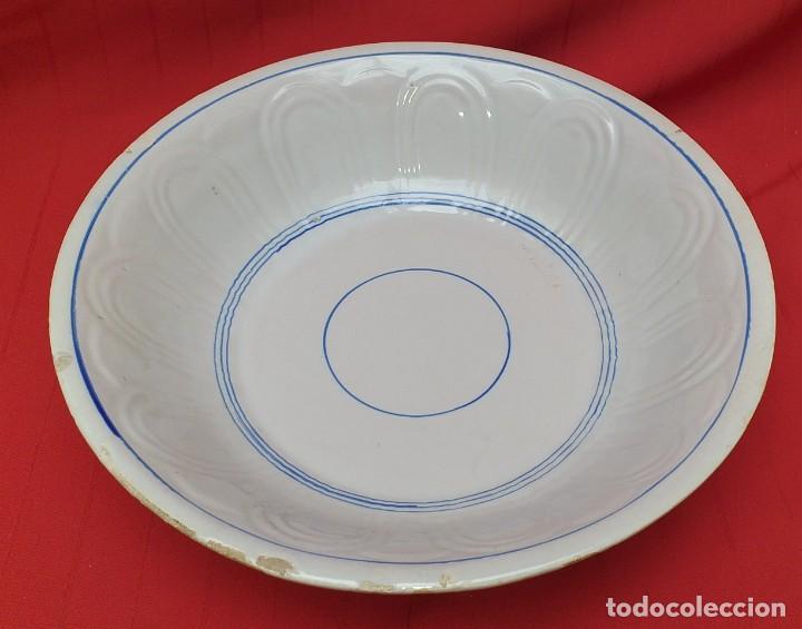 Antigüedades: PALANGANA DE CERÁMICA PRINCIPIOS DEL SIGLO XX - Foto 3 - 262382995