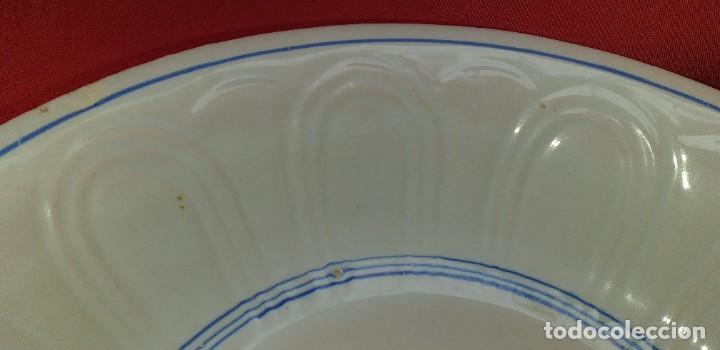 Antigüedades: PALANGANA DE CERÁMICA PRINCIPIOS DEL SIGLO XX - Foto 6 - 262382995