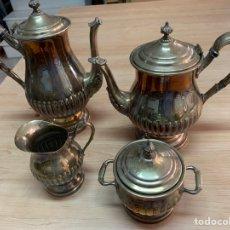Antigüedades: JUEGO DE CAFÉ. PLATA.. Lote 262389710