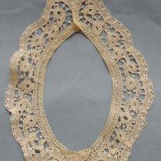 Antigüedades: ANTIGUA PECHERA DE ENCAJE PRINCESA S. XIX. Lote 262423540