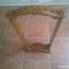 Antigüedades: ELEGANTE MUEBLE BASTONERO BASTONERA PARA 8 BASTONES,. Lote 262432000