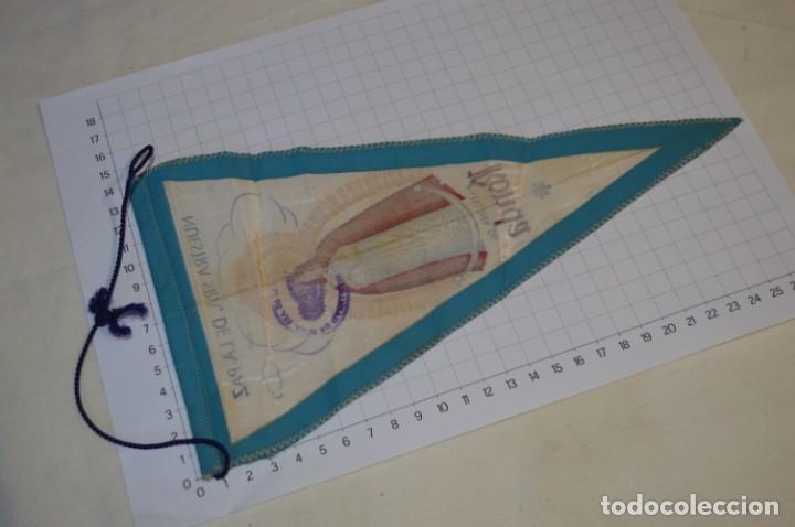 Antigüedades: Vintage / Banderín - Nuestra Señora del la Paz, Patrona de RONDA - Con sello Hermandad ¡Mira fotos! - Foto 4 - 262434625