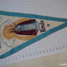 Antigüedades: VINTAGE / BANDERÍN - NUESTRA SEÑORA DEL LA PAZ, PATRONA DE RONDA - CON SELLO HERMANDAD ¡MIRA FOTOS!. Lote 262434625