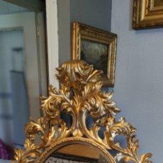 Antigüedades: ESPEJO DE MADERA. Lote 262435370