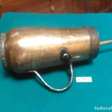 Antigüedades: ANTIGUA CHOCOLATERA DE COBRE. Lote 262436950