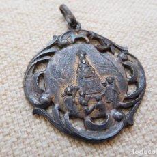 Antigüedades: MEDALLA ANTIGUA DE PLATA NTRA. SRA. DE MONTSERRAT. Lote 262470215