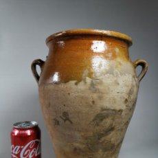 Antigüedades: ORZA TINAJA VASIJA TUPI ...ECT CERAMICA TERRACOTA CATALANA. Lote 262546475