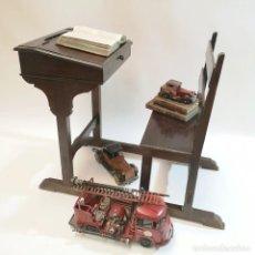 Antigüedades: PUPITRE INDIVIDUAL ANTIGUO. Lote 262601295
