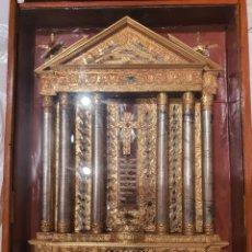 Antigüedades: RELICARIO VERACRUZ GENERAL LIGNUM CRUCIS. Lote 262602905