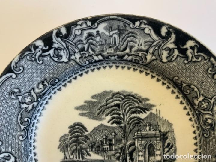 Antigüedades: PAREJA PLATOS SAN JUAN DE AZNALFARACHE - Foto 10 - 262606335