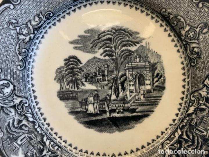 Antigüedades: PAREJA PLATOS SAN JUAN DE AZNALFARACHE - Foto 11 - 262606335