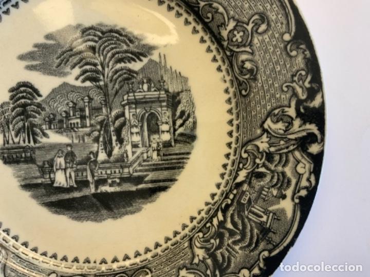Antigüedades: PAREJA PLATOS SAN JUAN DE AZNALFARACHE - Foto 13 - 262606335