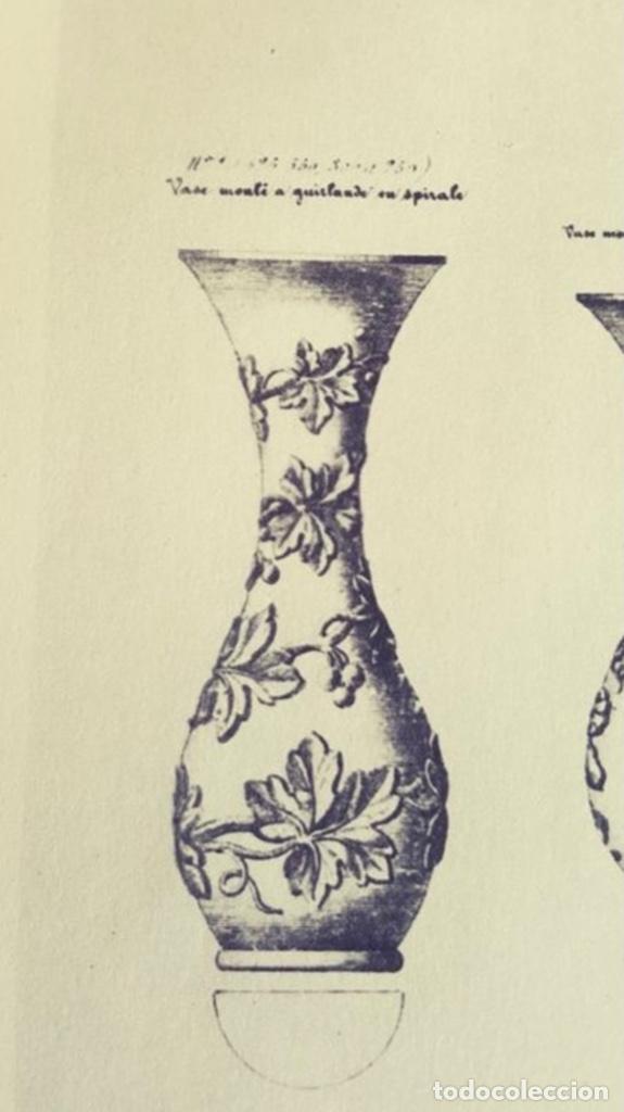 Antigüedades: PAREJA JARRONES BACARRAT (s.XIX) - Foto 10 - 262612535