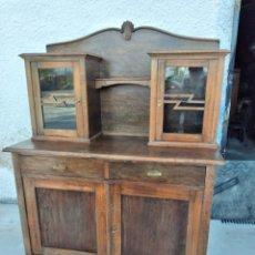 Antigüedades: ANTIGUA ALACENA DE MADERA NOBLE.. Lote 262643025