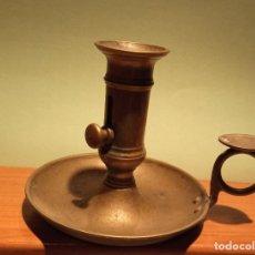 Antigüedades: PALMATORIA EN METAL SIGLO XIX. Lote 262647015