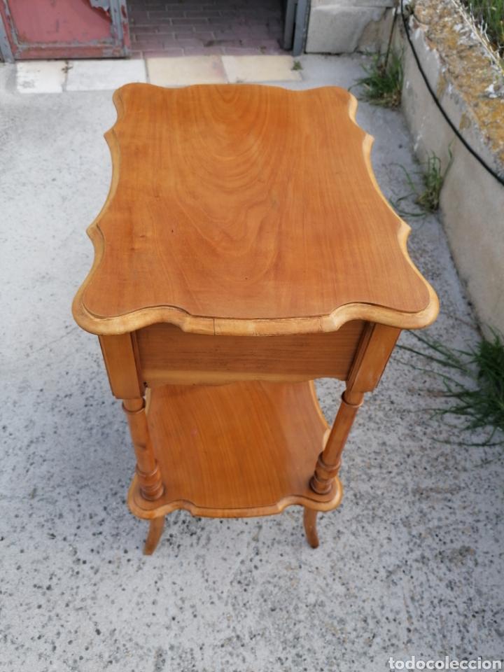 Antigüedades: Costurero de madera buen estado - Foto 2 - 262669525