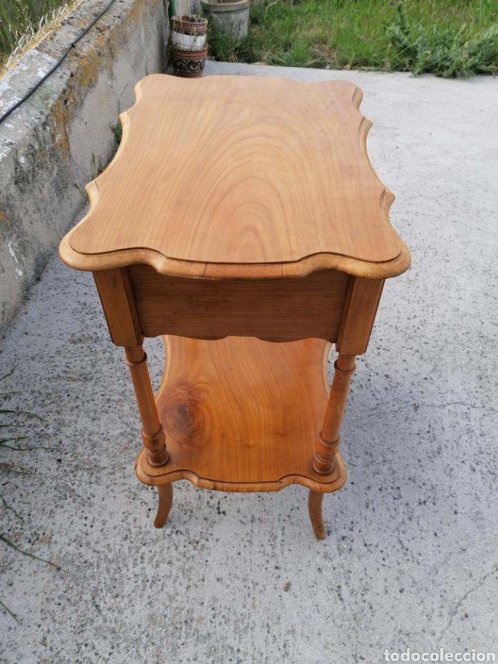 Antigüedades: Costurero de madera buen estado - Foto 3 - 262669525