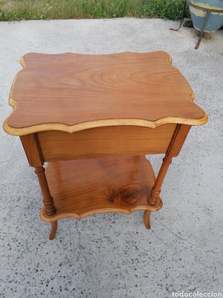 Antigüedades: Costurero de madera buen estado - Foto 4 - 262669525