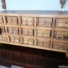 Antigüedades: CAJONERA TIPO BARGUEÑO. Lote 262693020