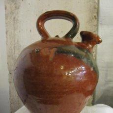 Antigüedades: ACEITERA DE BARRO - POPULAR. Lote 262699770