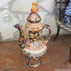 Antigüedades: GRAN JARRÓN DE PORCELANA CHINA. Lote 262700380