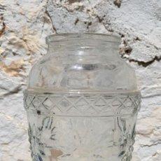 Antigüedades: FLORERO ANTIGUO DE CRISTAL DE 20 CMS. DE ALTURA. Lote 262726420