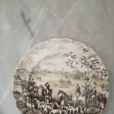 Antigüedades: PLATO DE PORCELANA INGLESA TALLY THE MEET JOHNSON BROS. Lote 262784760