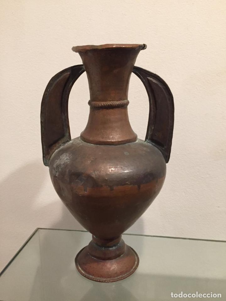 ANFORA, JARRON , NAZARÍ, ALTA ÉPOCA (Antigüedades - Hogar y Decoración - Jarrones Antiguos)