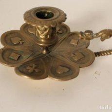 Antigüedades: PALMATORIA DE BRONCE. Lote 262835540