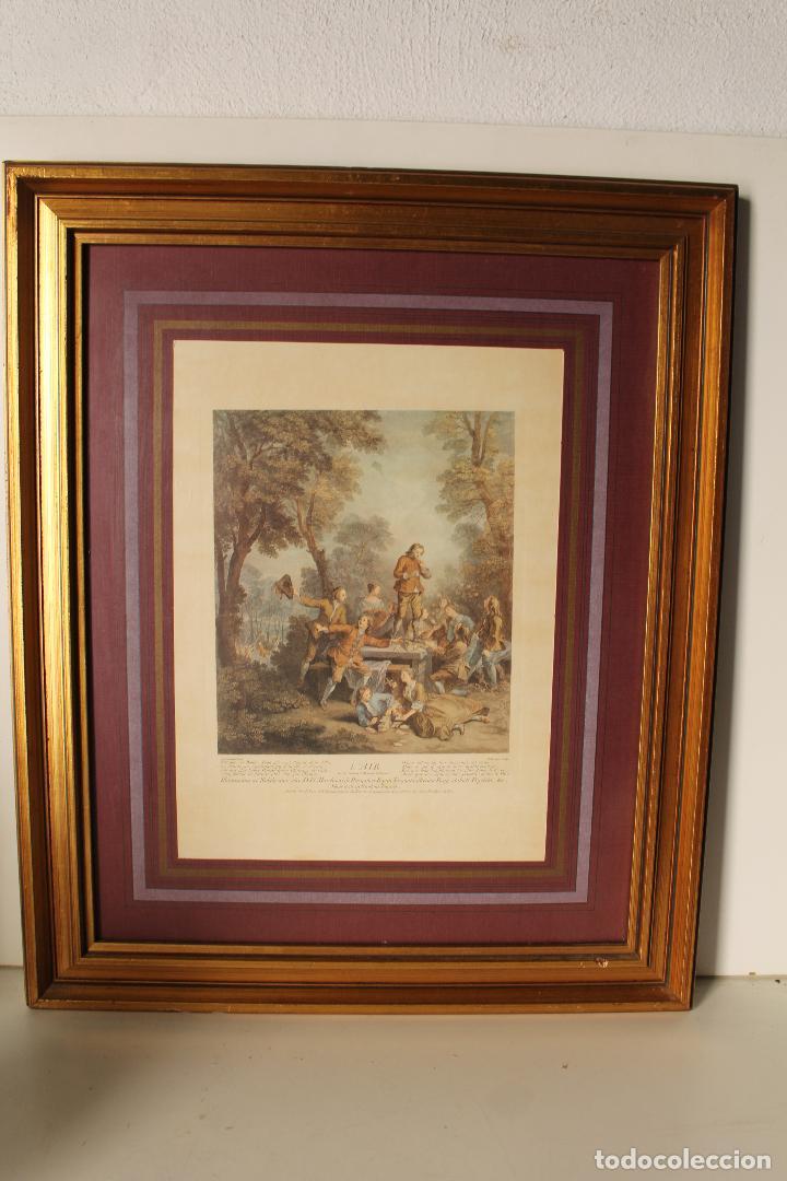 Antigüedades: cuadro marco lamina - Foto 2 - 262835815