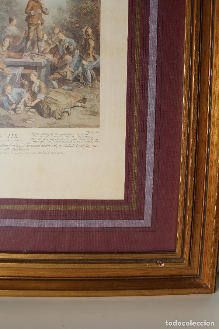 Antigüedades: cuadro marco lamina - Foto 3 - 262835815