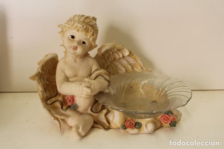 Antigüedades: angel frutero - Foto 2 - 262841150
