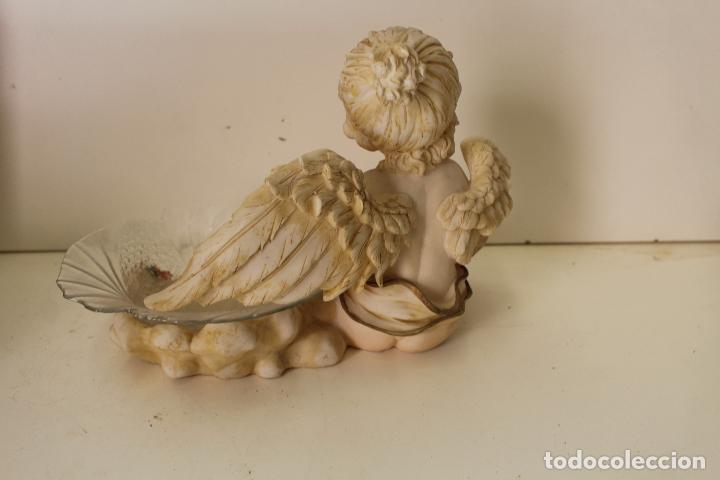 Antigüedades: angel frutero - Foto 5 - 262841150