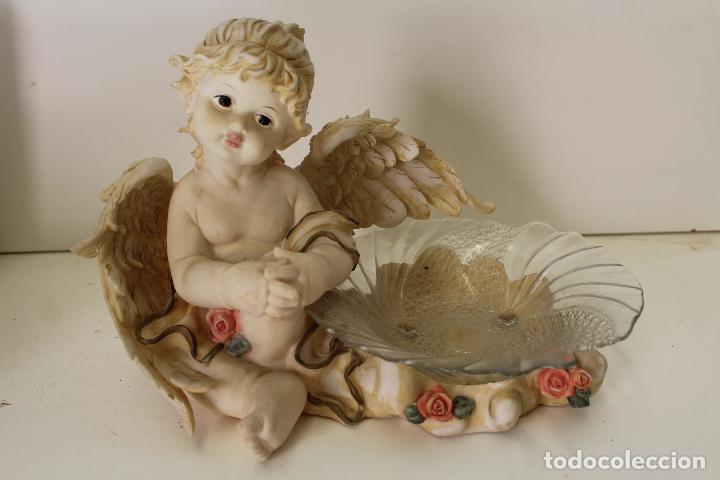 Antigüedades: angel frutero - Foto 6 - 262841150