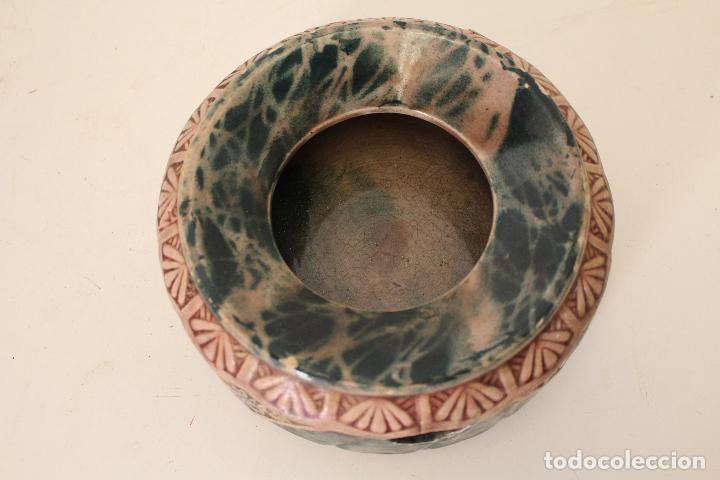 Antigüedades: escupidera manises - Foto 2 - 262847835